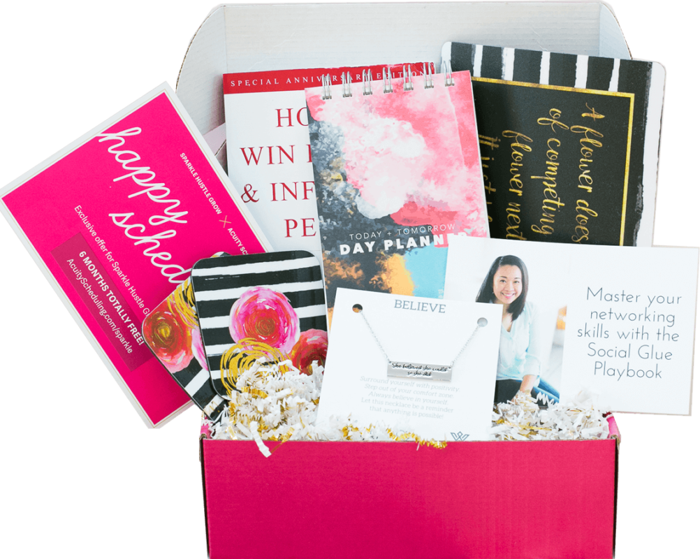 And Also Give A Little Added Surprise Each Time They Are Received My Favorite Subscription Box Pick For Mom Entrepreneurs Is By Sparkle Hustle Grow