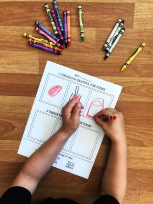 Kids Gratitude Worksheet